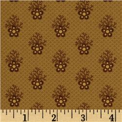 Historic Companions Floral Brown
