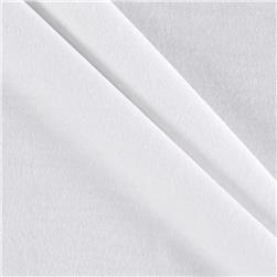 Rayon Lycra Knit Solid White