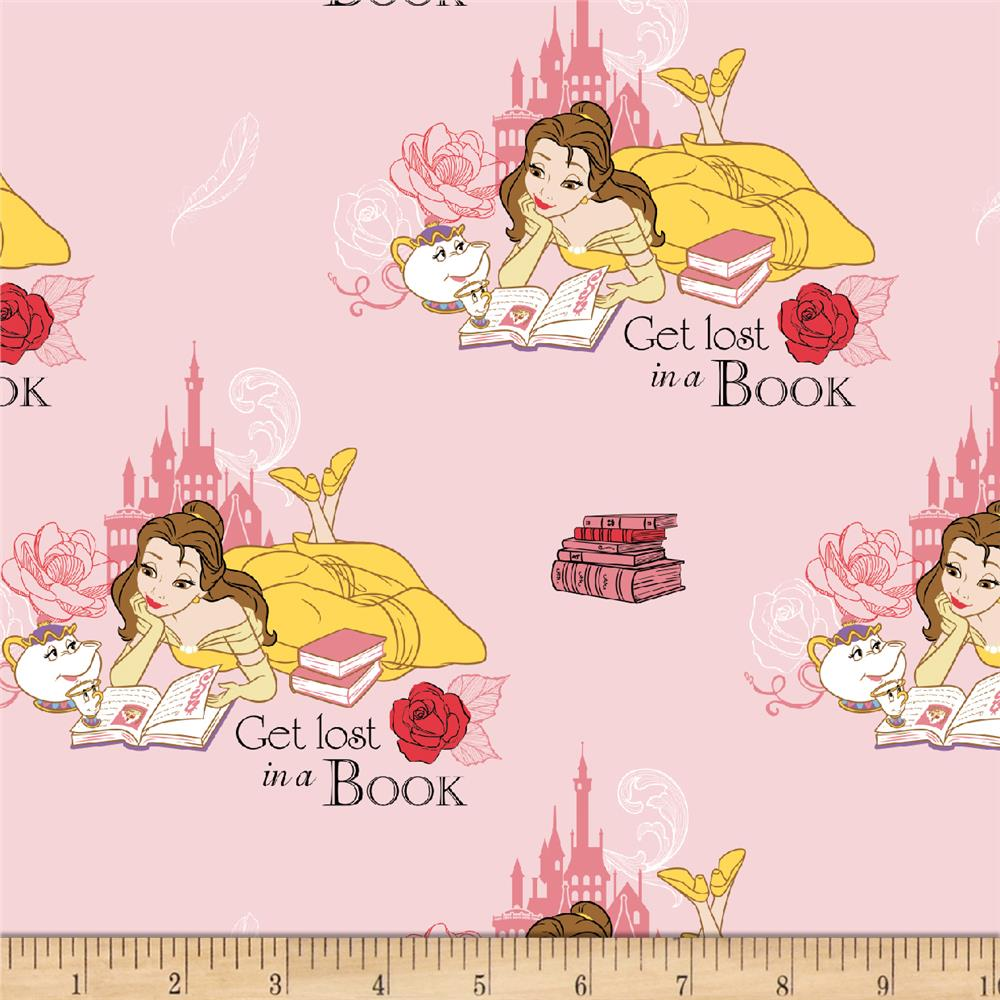 Disney Beauty and the Beast Lost in a book Light Pink