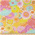 Kaffe Fassett Collective Asian Circles Yellow