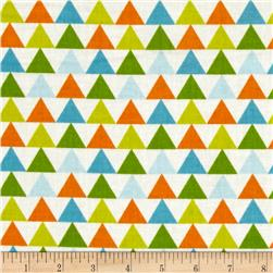 Moda Mixed Bag Flannel Tee Pee Sprouts