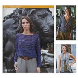 Berroco Versa Knitting Pattern Booklet #316