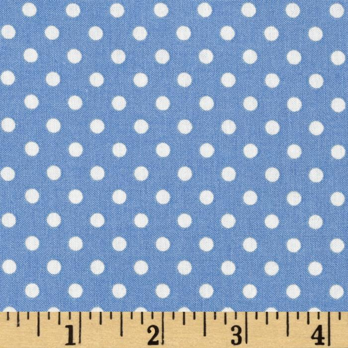 Aunt Grace Dots Blue