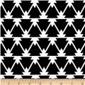 Joel Dewberry Cali Mod Home Decor Sateen Twill Trinity Black