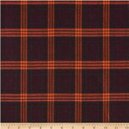 Holiday Blitz Large Plaid Fuchsia/Orange
