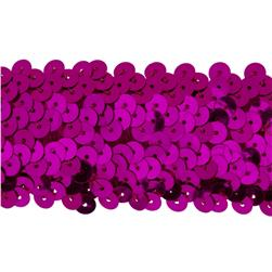 Team Spirit #68 Sequin Trim Fuschia