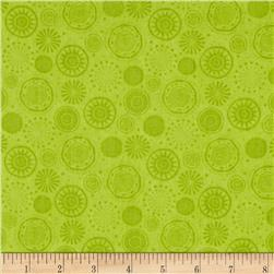 Fall Fun Tonal Circles Lime