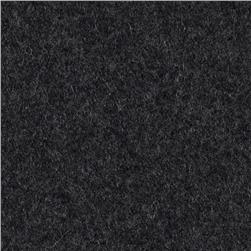 11.6 oz Wool Nylon Melton Wool Charcoal