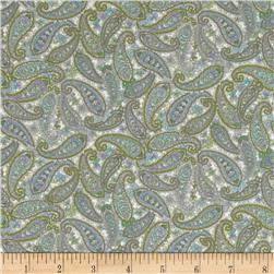Briarcliff Tossed Paisley Cream
