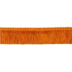 "Duralee 2 1/4"" Brush Fringe Papaya"