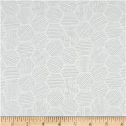 Cloud 9 Organics Hatchmarks Interlock Knit Gray