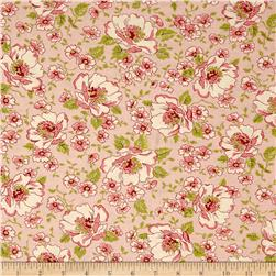 Moda Ambleside Flower Garden Blush