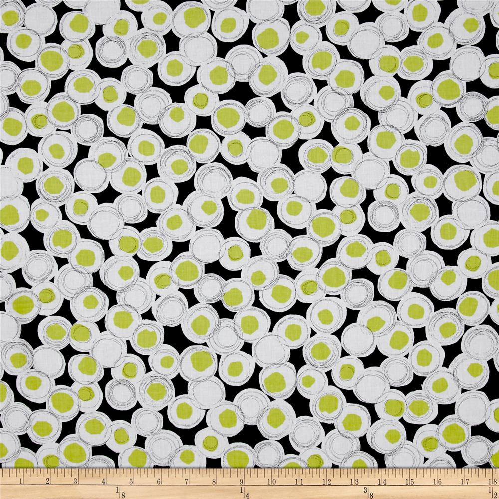 Contempo Cosmopolitan Dot Lime
