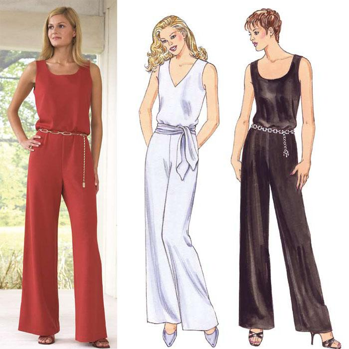 Kwik Sew Sleeveless Jumpsuits Pattern
