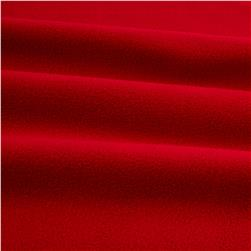 WinterFleece Velour Red Fabric