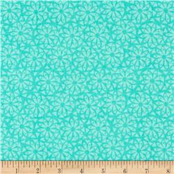 Popsicle II Floral Turquoise