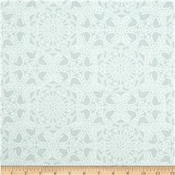 Crystal Palace Crochet Snowflakes Pearl Fabric