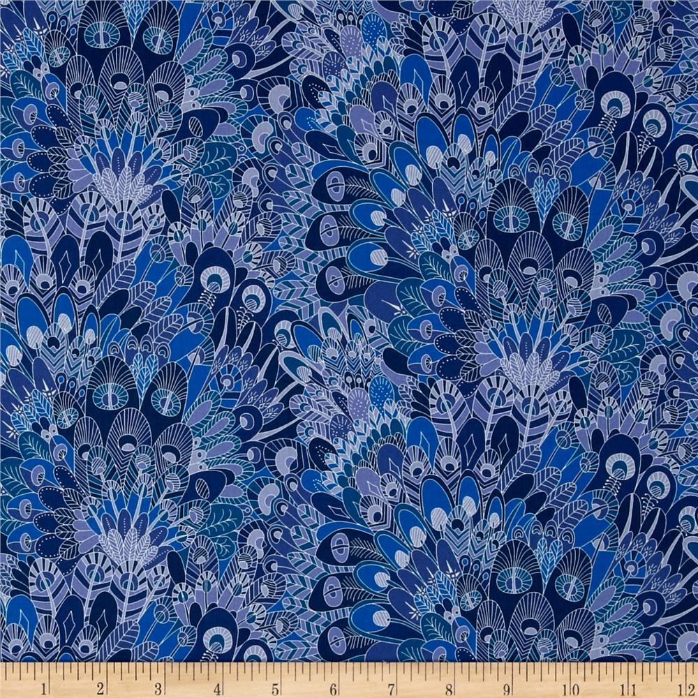 Liberty of London Contemporary Classic Tana Lawn Eben Blue