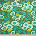 Joel Dewberry Home Decor Sateen Notting Hill Pristine Pop Basil