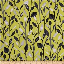 Kanvas Tweet As Can Be Linear Leaves Chartreuse