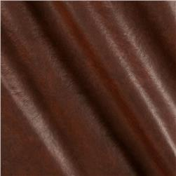 Faux Leather Buffalo Brown Fabric