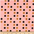 Cotton & Steel Lucky Strikes Dime Store Dot Coral