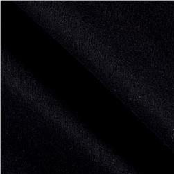 Baby Rib Knit Solid Black