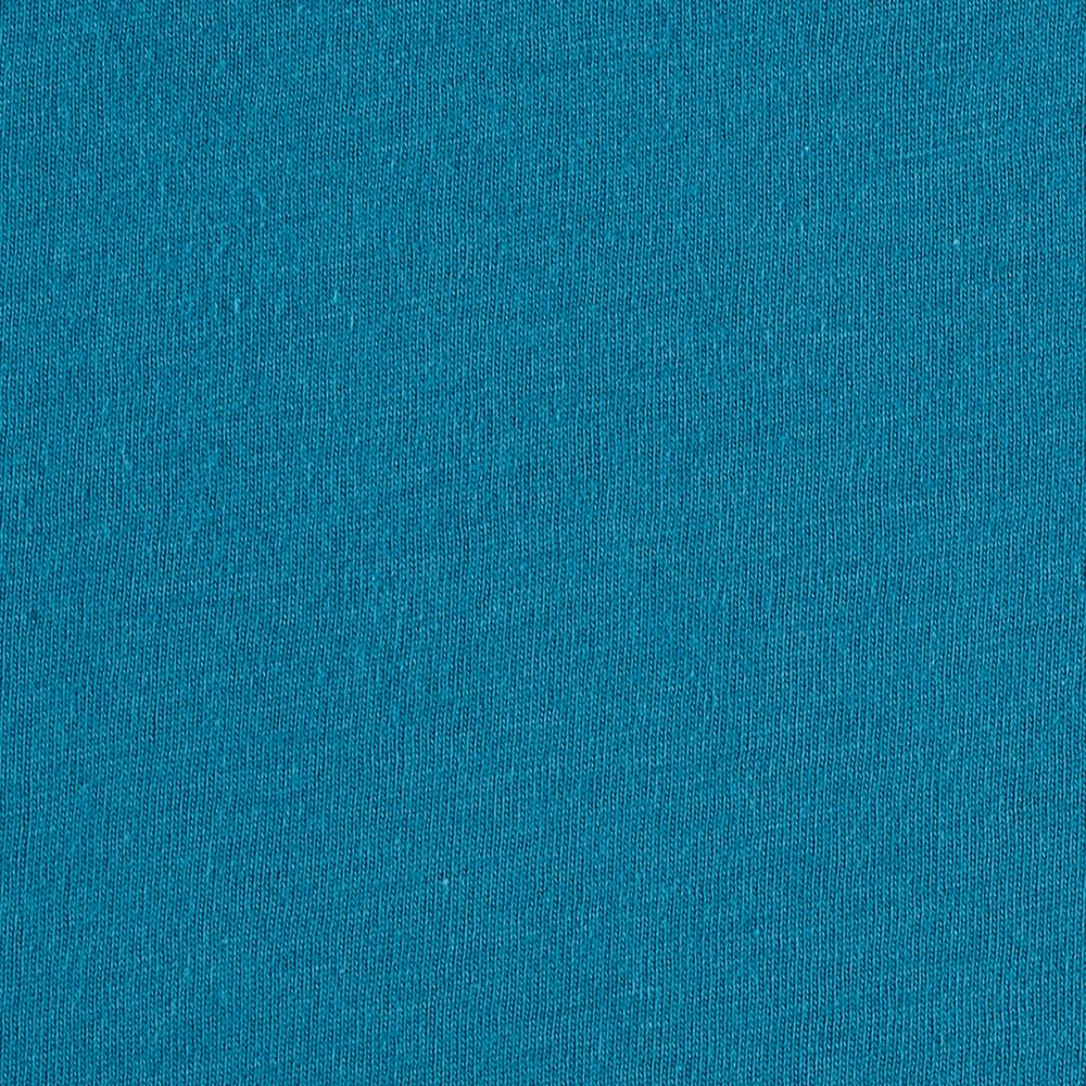 Cotton Jersey Knit Turquoise