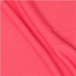 Chiffon Knit Solid Pink Passion