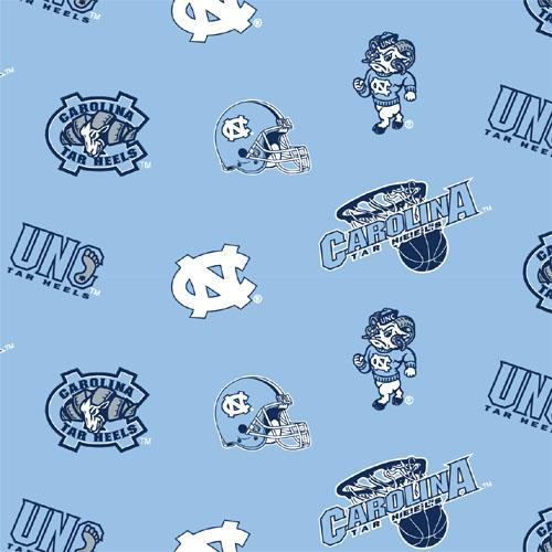 Collegiate Fleece University of North Carolina Tossed