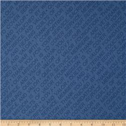 Quilts of Valor Mission Statement Blue
