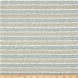 Waverly Admiral Chenille Jacquard Stripe Spa