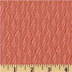 Double Knit Jacquard Light Coral