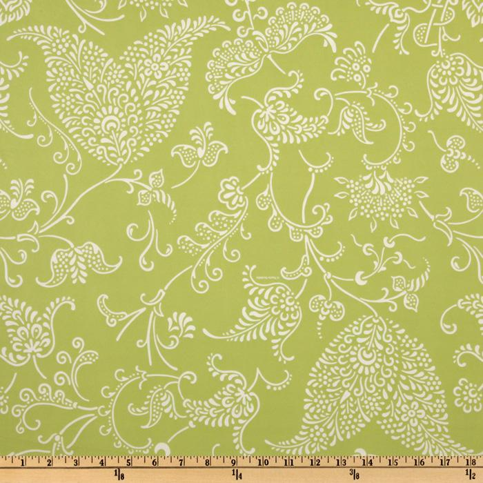 Flannel Backed Vinyl Potpourri Lime