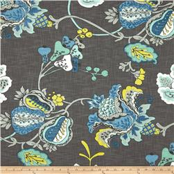 Richloom Leopold Slub Aquamarine Home Decor Fabric