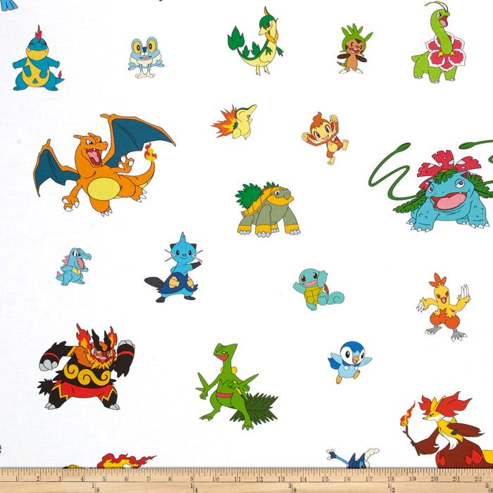 Poke'mon Character Collage Multi