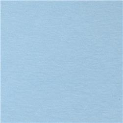 Cotton Spandex Jersey Knit Solid Powder Blue