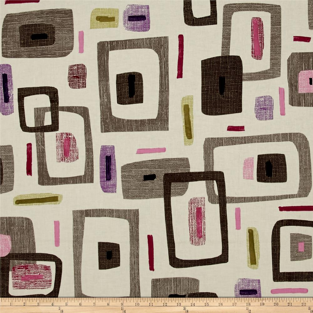 Contempo Cachet Geo Pink/Taupe