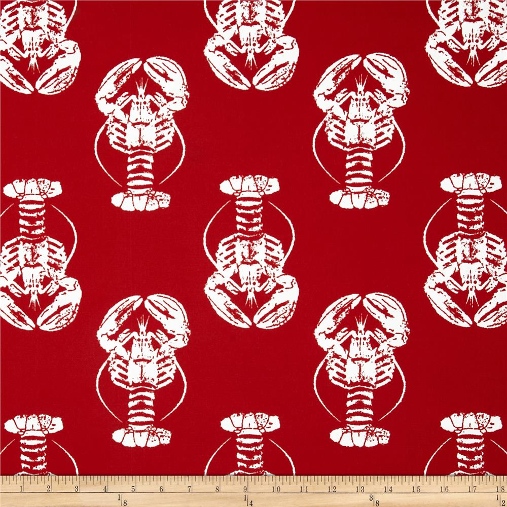 Premier Prints Indoor/Outdoor Lobster Rojo Red