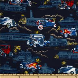 Tropicals and Conversationals Hot Rods Indigo