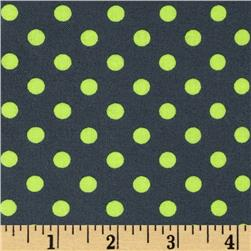 Michael Miller Neon Dot Laminated Cotton Luna Fabric