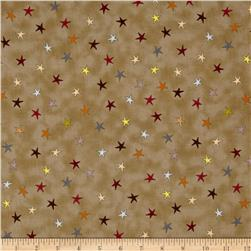 Sophie Tossed Stars Brown/Multi