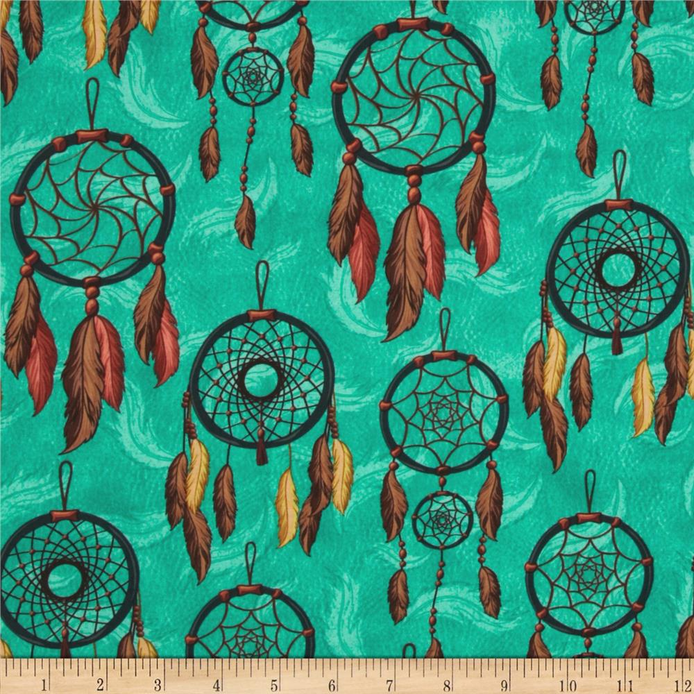 Dreamcatcher Allover Dreamcatchers Turquoise
