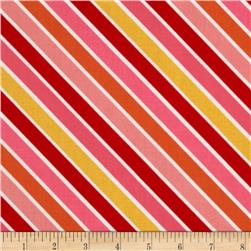 Riley Blake Hello Sunshine Stripe Pink