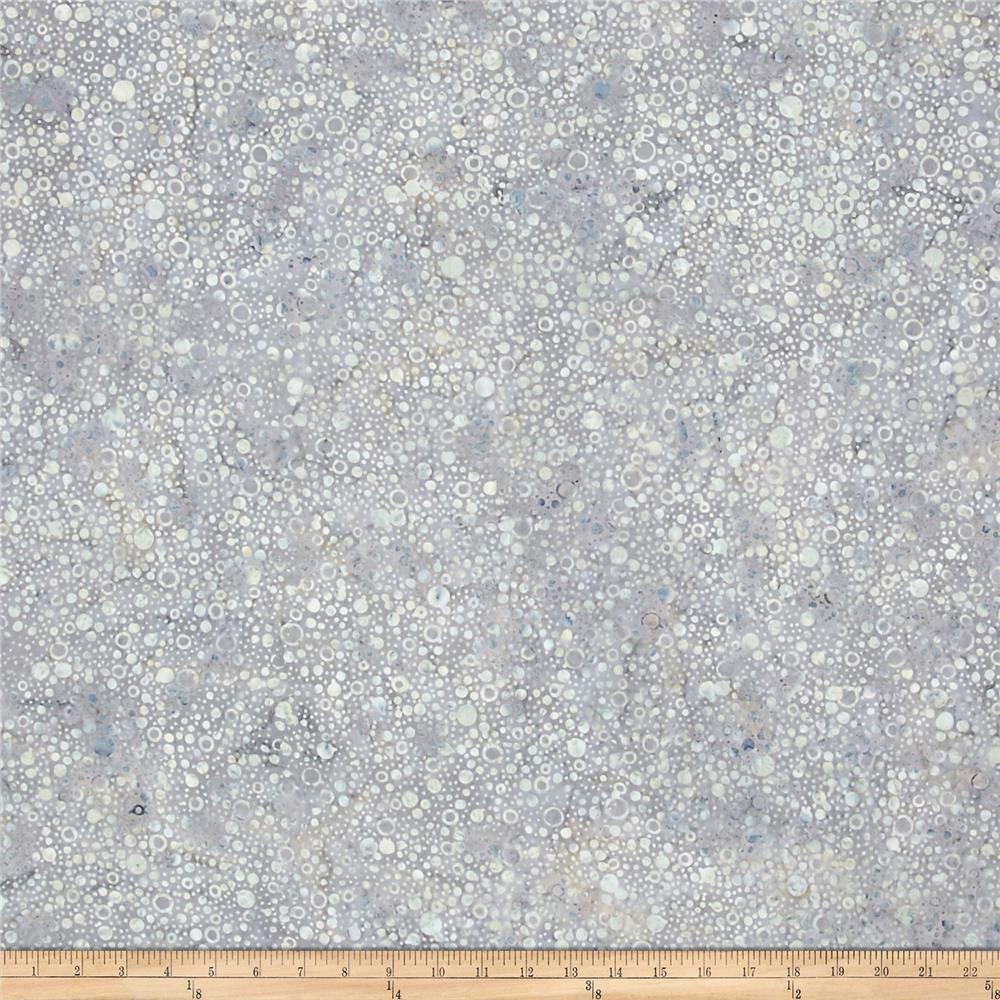 Wilmington Batiks Splash Dots Medium Gray
