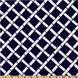 Premier Prints Indoor/Outdoor Cadence Deep Blue