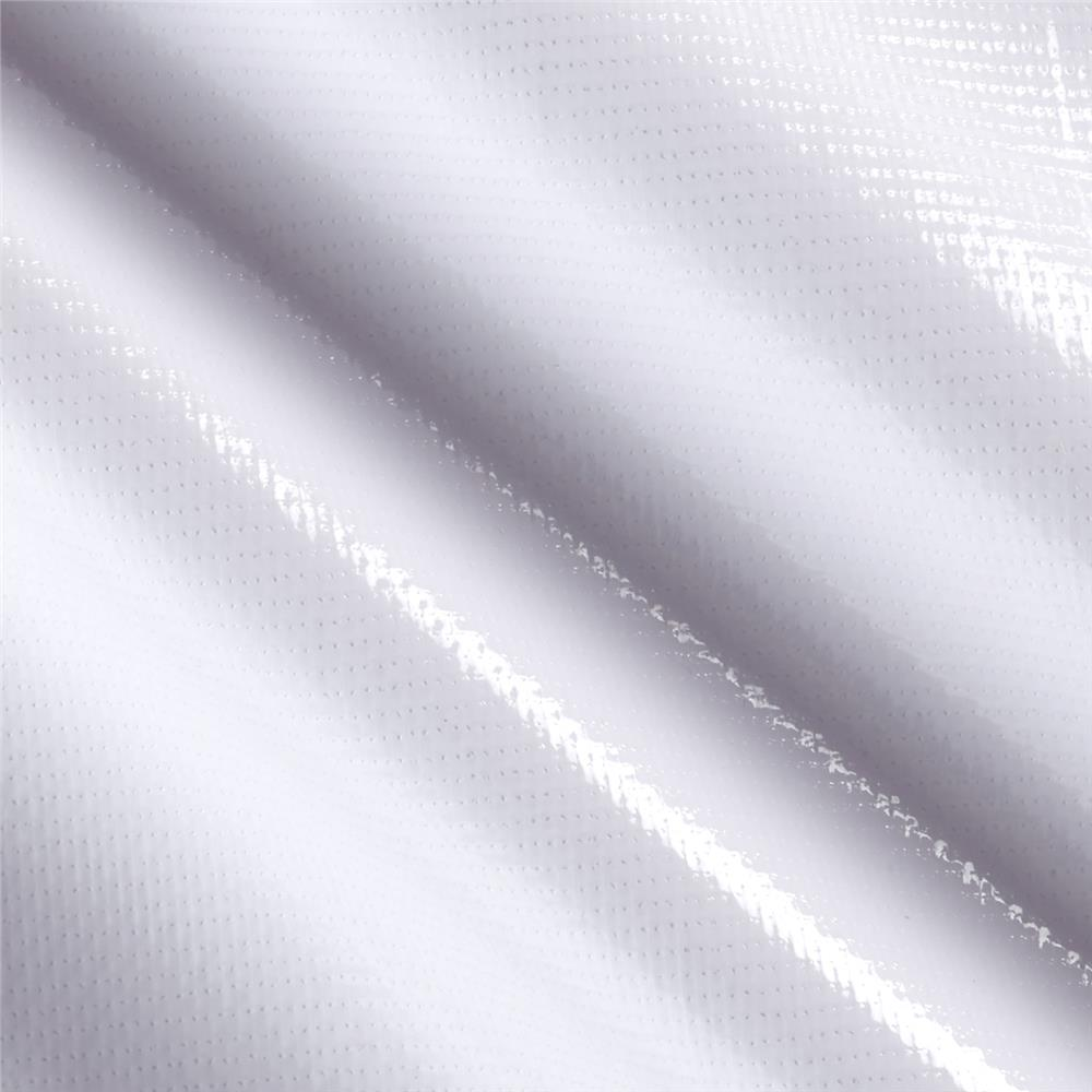 Oil Cloth Solid White Fabric