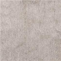 Ramtex Empress Textured Velvet Abbey Stone