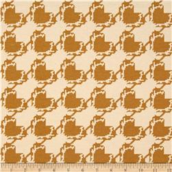 Art Gallery Blithe Jersey Knit Houndstooth Tan
