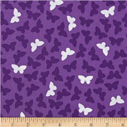 Fancy Flight Organic Butterflies Jewel Purple